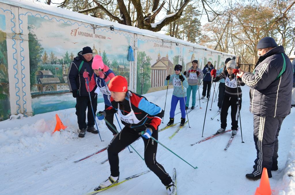 Соревнования по лыжным гонкам среди работников жилищно-коммунального хозяйства Гомельской области